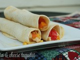 Corn and Cheese Taquitos