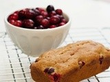Cranberry Orange Mini Quick Bread