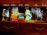 Getting Organized in the New Year: Tea Drawer