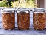 Pear Ginger Preserves