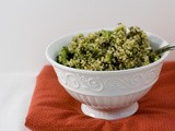 Pesto and Green Bean Quinoa