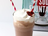 Savvy Cookbooks: The Soda Fountain (and Chocolate Cherry Milkshakes)