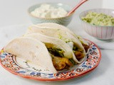 Tilapia Tacos with Lime Mayonnaise