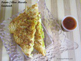Aloo Masala Sandwich or Potato Masala Sandwich