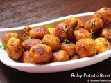 Baby Potato Roast or Small Potato Roast