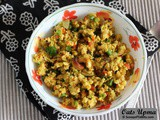 Oats Upma or Oats Vegetable Upma