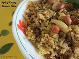 Spicy Curry Leaves Rice or Karuveppilai Sadam