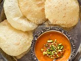 Aamras Poori | Indian Mango Nectar | Mango Puree