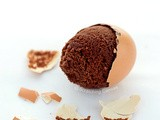 Brownies baked in Egg shells | Easter Breakfast