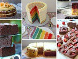 6 Scrumptious Cakes #CookOnceEatTwice