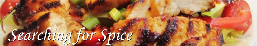 Very Good Recipes - Searching for Spice