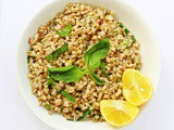 Barley Salad with Lemon and Basil
