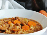 Beef and Barley Vegetable Stew