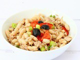 Cannellini Bean Salad with Tuna