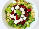 Couscous, Beetroot and Feta Salad