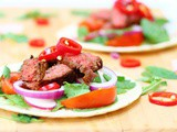 Easy Barbacoa Beef Steak Tacos