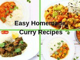 Easy Homemade Curry Recipes from Scratch