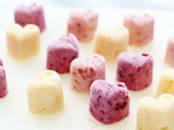 Frozen Yoghurt Hearts – Perfect for Valentines Day