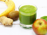Fruity Green Ginger Smoothie