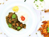 Lamb and Spinach Curry | Lamb Saag