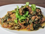 Lamb Saag – Lamb and Spinach Curry