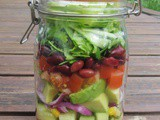Mexican Salad in a Kilner Jar