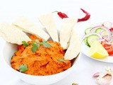 Muhammara Walnut and Red Pepper Dip