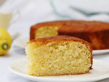 Olive Oil Lemon Drizzle Cake