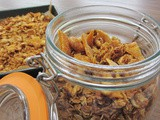 Peanut, Mango and Coconut Granola