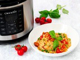 Pressure Cooker Chorizo Risotto and Crock-Pot® Express Multi-Cooker Review