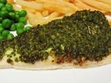 Recipe Redux: Pesto Crusted Sea Bass