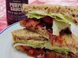 Review: Purple Sauce and a blt