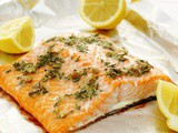 Rosemary Roasted Garlic Salmon