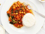 Simply Gluten Free: Butternut Squash and Spinach Curry