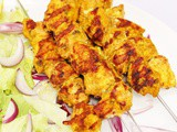 Spanish Chicken Kebabs – Perfect for the bbq