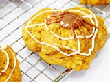 Spiced Pumpkin Cookies for Halloween