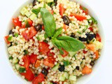Tomato and Olive Couscous Salad