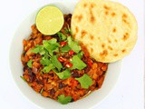Vegan Lentil Chilli with Black Beans