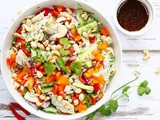Vietnamese Chicken Salad with Rice