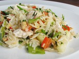 Vietnamese Rice and Chicken Salad