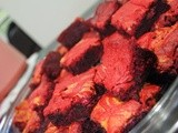 Red Velvet Cheese Brownie