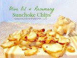 Olive Oil and Rosemary Sunchoke Chips