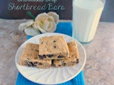 Peanut Butter Chocolate Chip Shortbread Bars