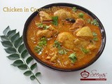 Chicken in Coconut Gravy Recipe / Chicken Curry in Coconut Milk