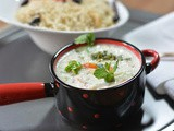 Cucumber, Onion and Tomato Raita Recipe / Cucumber Raita Recipe