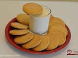 Eggless Custard Cookie