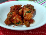 Ayam Masak Merah (Chicken in Creamy Spicy Tomato Sauce)