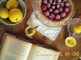 Crostata di lamponi e lemon curd e Happy Birthday to me