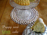 Poppy seed lime cake
