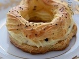 Paris-Brest con chantilly al Parmigiano